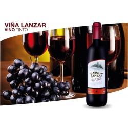 VINO VIÑA LANZAR TINTO 750ML